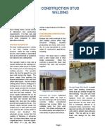 Construction Stud Welding White Paper