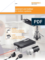 Laser measurement and ballbar diagnosis for motion systems
