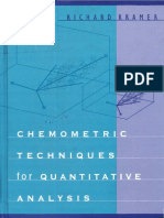 Gemometric Techniques for Quantitative Analysis 1998 - Kramer