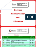 Business Communication and Etiquette PyicnPooZd