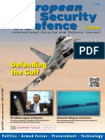 European Security and Defence - April 2016.pdf