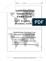 Establishing Gear Standards for Global Trade