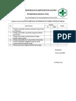 7.1.2 Ep 2 Hasil Evaluasi Penyampaian Informasi Di Tempat Pendaftaran