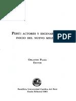 Peru Actores y Escenarios