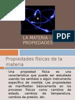 La Materia – Propiedades (1)