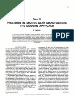 PRECISION IN MARINE-GEAR MANUFACTURE
