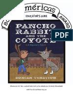 Americas Award Pancho Rabbit Educators Guide