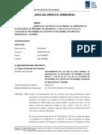 Declaracion de Eia Impcto Ambiental