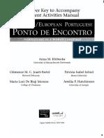 Ponto de Encontro Brazilian PT answerbook
