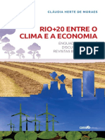 Rio+20 entre o clima e a economia