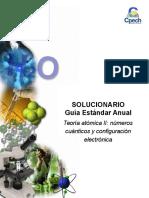 2014 Solucionario Clase 3 Teoría Atómica II