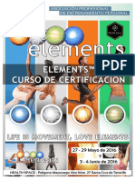 Element 27-29 Mayo y 3-5 Junio 2016
