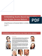 Asset-Based Approaches in Public Sector Reform