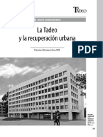 Universidad Tadeo - Urbanismo