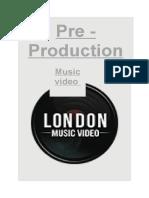 pre production booklet