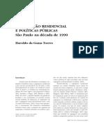 Segregação Residêncial e Políticas Públicas - Haroldo da Gama Torres.pdf