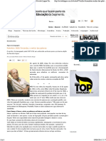 Relembre_ Millôr Fernandes, o Senhor Das Palavras _ Revista Língua Portuguesa
