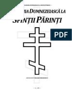 Arhim. Chesarie Gheorghescu - Iconomia Dumnezeiască la Sfinții Părinți