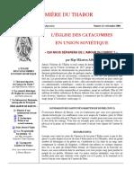 Lumiere du Thabor 21 (décembre 2004).