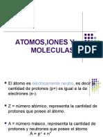 Atomos, Iones y Moléculas
