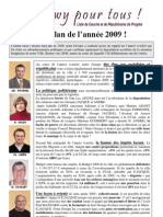 N°21 -Bilan année 2009