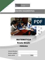 6 Evaluacion Diagnostica Sexto Grado 11-04-2016