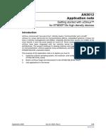 AN3012_GettingStartedWithucLinuxOnSTM32F10x.pdf