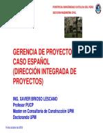 Gerencia de Proyectos Caso Español