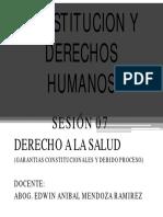 Sesion VII Derecho a La Salud