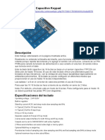 TTP229 16 Teclas Capacitivo