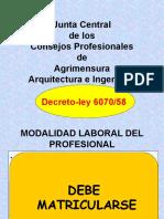 Ejercicio profesional ingeniería