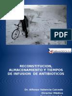 reconstitucionalmacenamientoytiemposdeinfusionde-090403113214-phpapp01.pptx