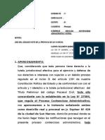 Contencioso Administrativo- Orden a La Administracion