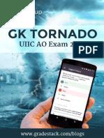 Gk Tornado Uiic Ao Exam 2016