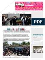 Así Fue El Funeral de Muhammad Ali _ Sopitas
