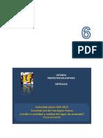 INTERFIS. Artículo 6. 2015. Actividad piloto GIIE#010. Consistencia del hormigón fresco. ¿Incide la cantidad y calidad de agua de amasado? 2013