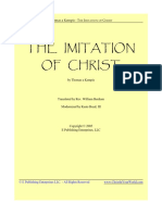 Imitation of Christ -Modern Translation