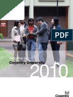International Student Welcome Brochure
