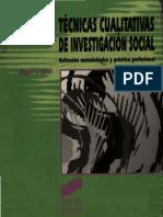 Valles, M - Tecnicas Cualitativas de Investigacion Social
