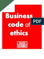 KOF Business Code of Ethics 2012