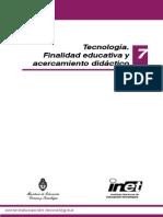 7 - Tecnología Finalidad Educativa