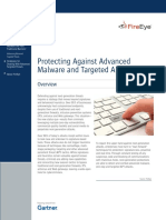 Protecting Against Advanced Malware and Targeted APT Attacks