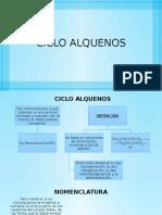 CICLO ALQUENOS