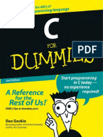 Dan Gookin C for Dummies 2004