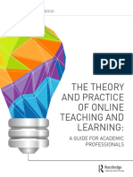 Theory and Practice of Online FB Final
