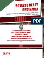 Proyecto de ley ordinaria.pptx