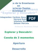 Explorar y Descubrir