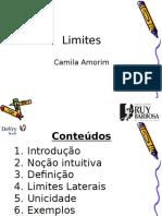 Aula 01 - Limites - Noções, Definição, Lateralidade