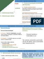 2 - Dir. Administrativo - Organização Da Administração Pública