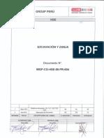 HSE 00 PR 004 (Excavación y Zanja) Rev 1